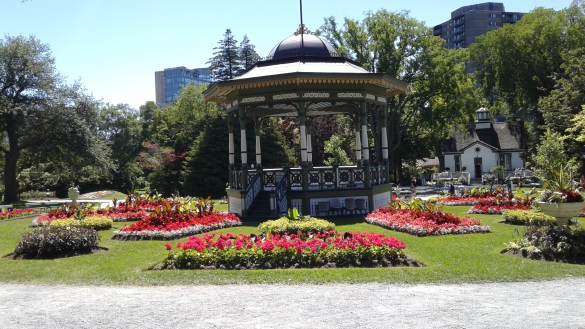 Les jardins publics d'Halifax (photo: Sandra Dorelas)