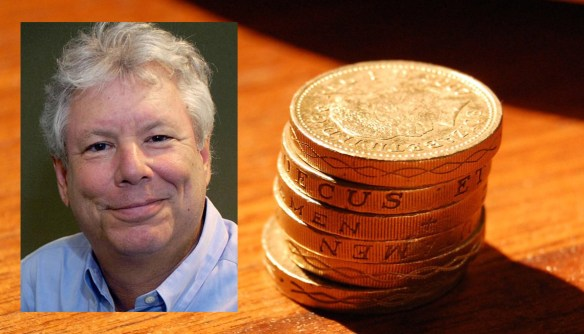 Richard Thaler, prix Nobel d'économie 2017. (Photos: Université de Chicago et Alex Nguyen / Flickr / CC)