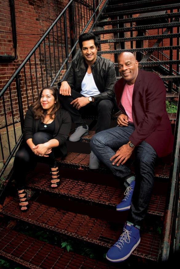 Gina Brillon, Sugar Sammy, Alonzo Bodden.