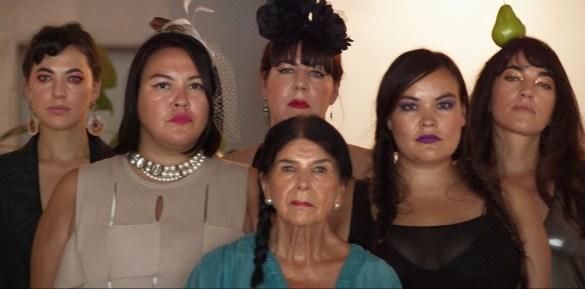 Six femmes autochtones du court-métrage Creatura Dada.