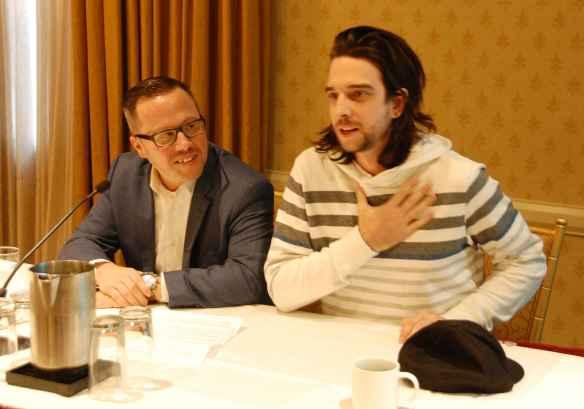 Dominic Mailloux et DJ Unpier.