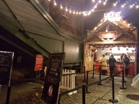 La cabane de la soupe Campbell.