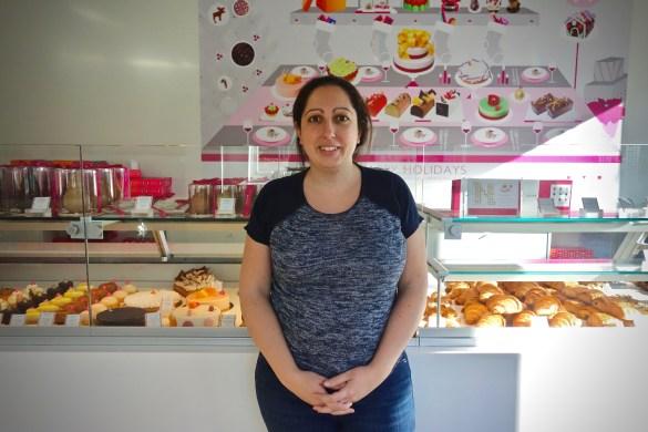Nadège Nourian dans sa boutique du 780 rue Queen Ouest