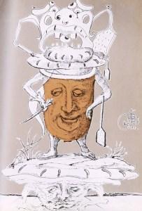 Illustration par Dali.