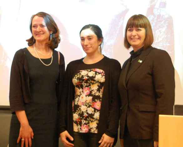 Nicole Lemieux, Mishka Lavigne, Marie-France Lalonde.