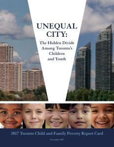 Le rapport Unequal City 2017.