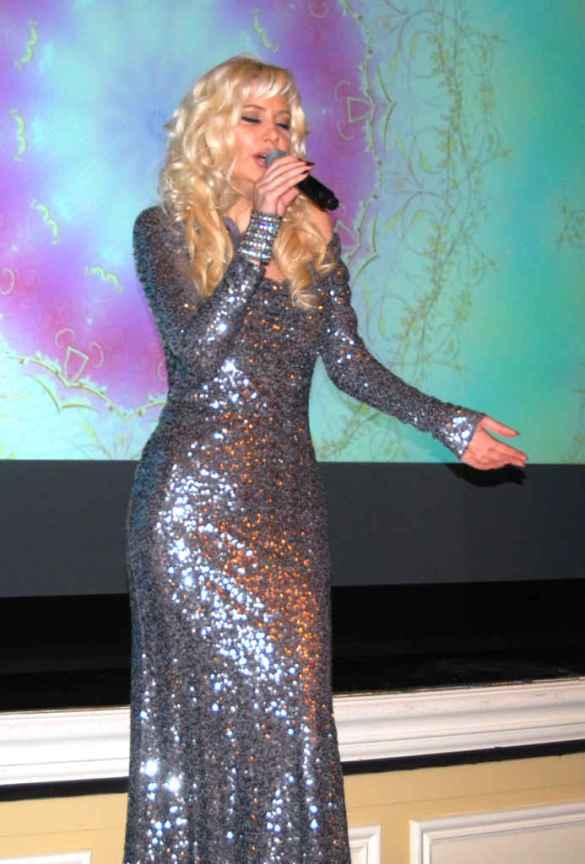 La soprano Myroslava Solovianenko.