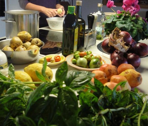 La consommation d'aliments frais et de protéines d'origine végétale serait un des fondements du prochain Guide alimentaire canadien... entre autres pour mitiger les changements climatiques. (Photo: Jean-Pierre Dubé)