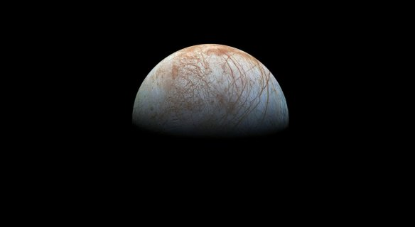Europa, une des lunes de Jupiter. (Photo: NASA)