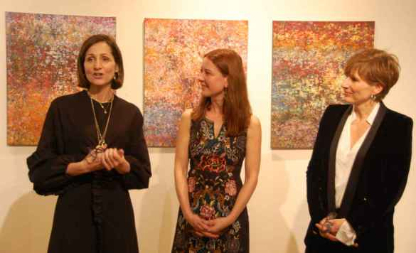 Monique Ryan, Isabelle Bonsaint, Catherine Desjardins.