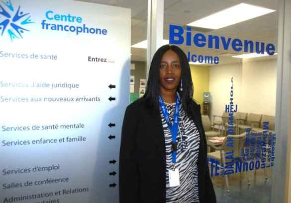 Florence Ngenzebuhoro, directrice générale du Centre francophone de Toronto