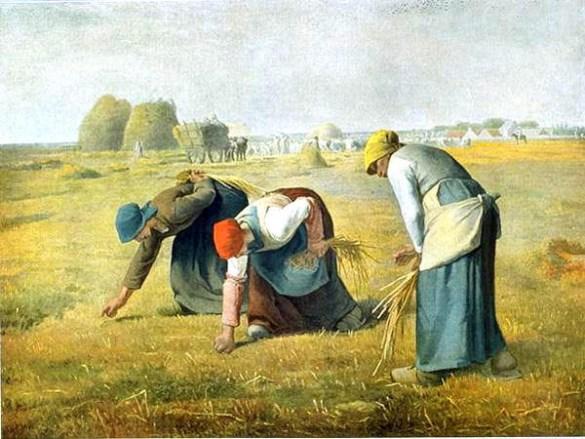 Les Glaneuses (1857), musée d'Orsay, Paris.
