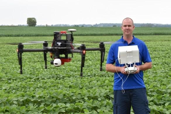 aginnovationontario drone agriculture