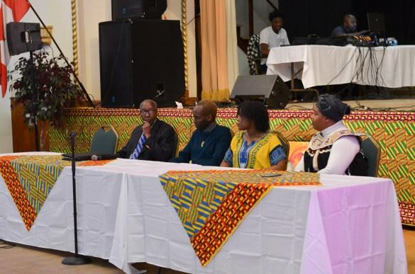 La soirée de célébration du mois de l'histoire des noirs