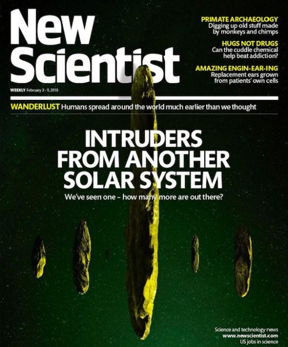 Oumuamua visiteur interstellaire