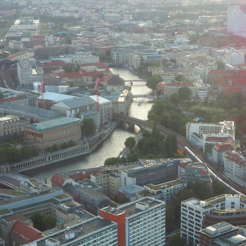 Berlin vue aérienne