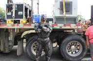 Le Black Panther a gratifié le carnaval de sa présence
