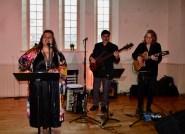 Patricia Cano et ses musiciens ont animé la soirée.