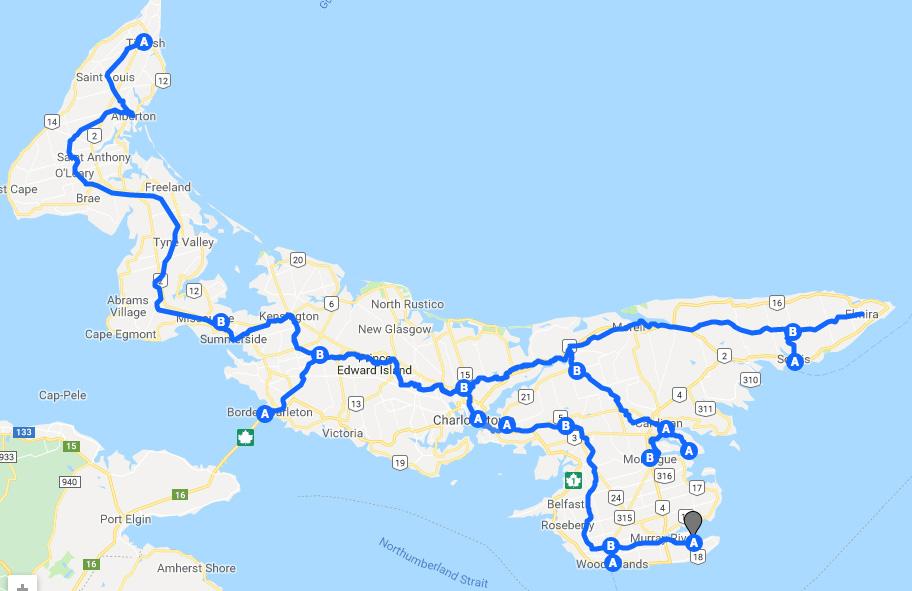 Les secrets de l'Île-du-Prince-Édouard pour des vacances sur deux roues
