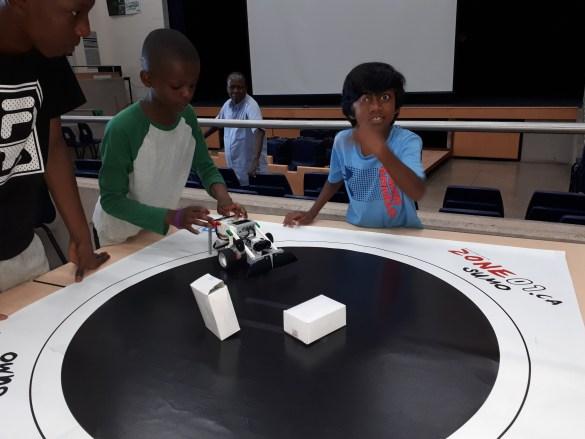 Camp de la robotique