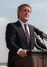 Brian Mulroney, premier ministre du Canada du 17 septembre 1984 au 25 juin 1993.