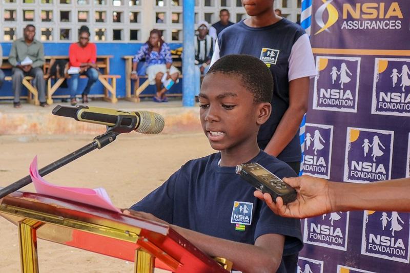 IN-Togo La fondation Nsia vient en appui à l'Epp Messan-Condji d'Aného