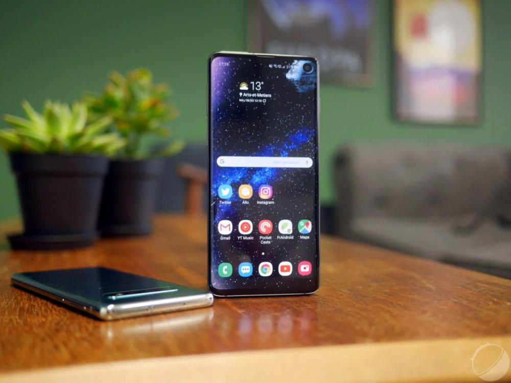 Galaxy S10 ce bug du capteur de proximité qui pompe la batterie du téléphone