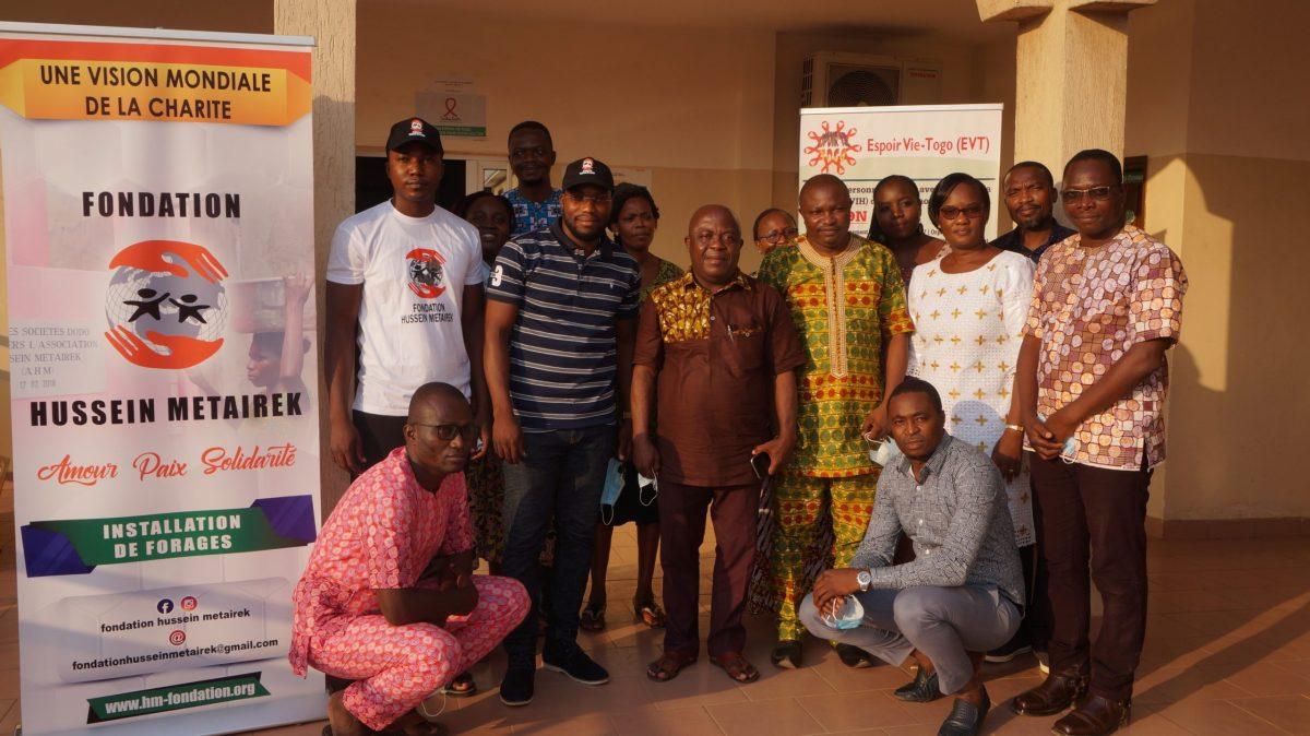 L'ONG Espoir-Vie Togo consolide son partenariat avec la fondation Hussein Métairek pour la prise en charge des Orphelins et Enfants Vulnérables