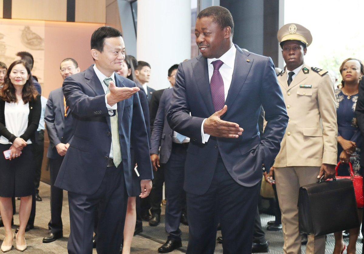 Président, Faure E. Gnassingbé, entrepreneur, chinois, Jack Ma, Alibaba, milliardaire, Business Forum Togo-Chine, délégation togolaise, Plan national de développement, PND, Focac, 7 septembre 2018