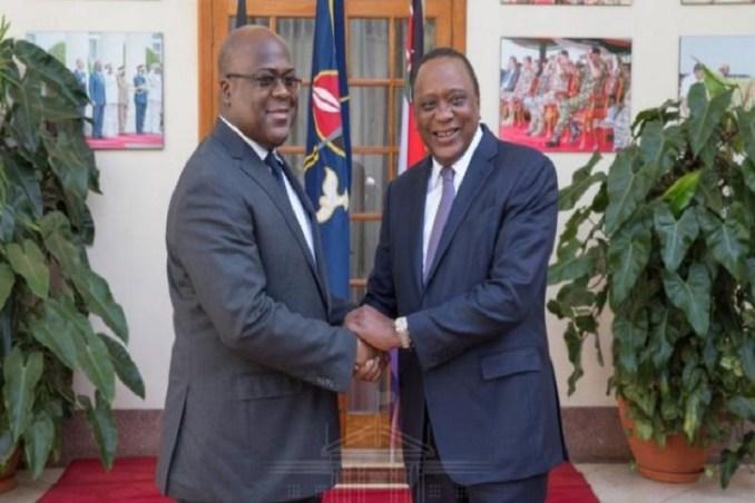 Kenya, RDC, Tshisekedi, Uhuru Kenyatta