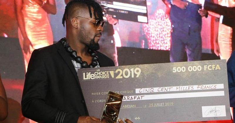 Life Choice Awards : Arafat remporte la palme d'Or dans la catégorie musique