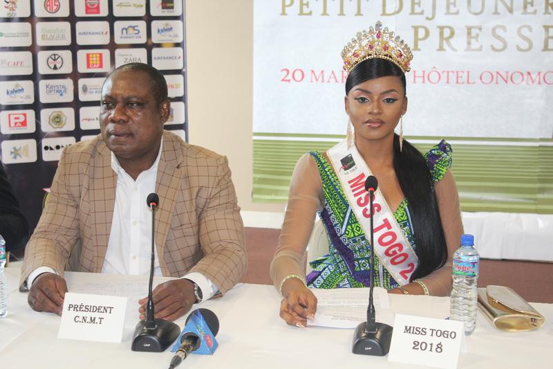 Miss Togo 2019 : Mlle Ichabatou Gnongbo-Tchoro remet sa couronne en jeu