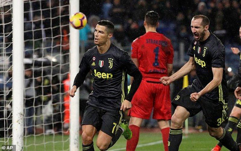 Seria A-Ronaldo et la Juventus renversent la Lazio en fin de match