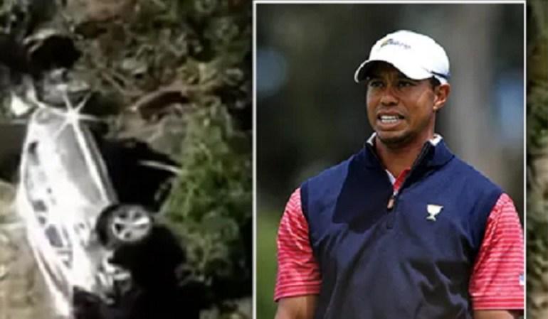 Tiger Woods Grave accident de circulation de la star du golf