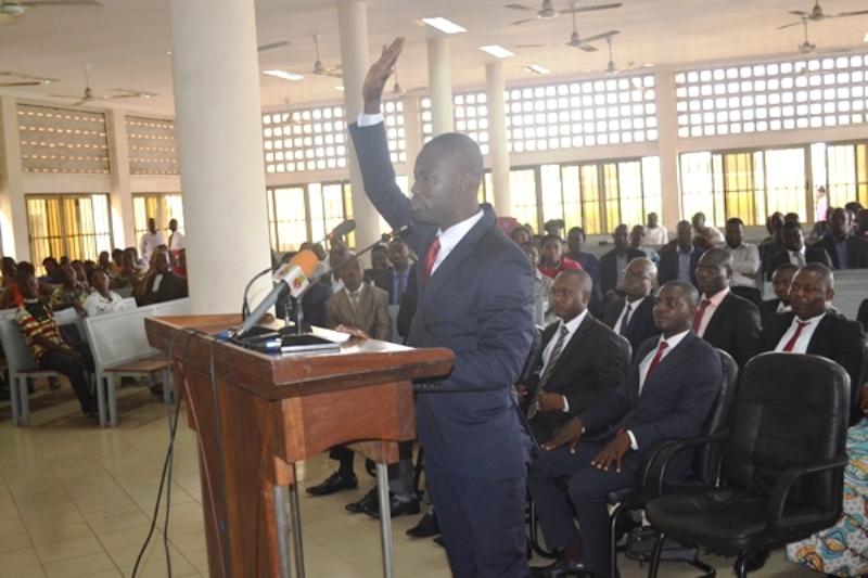Togo : 38 nouveaux inspecteurs du travail font serment du respect du secret professionnel