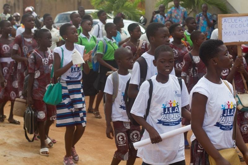 Togo : l'ONG Compassion célèbre la journée de l'enfant africain à Agoenyivé