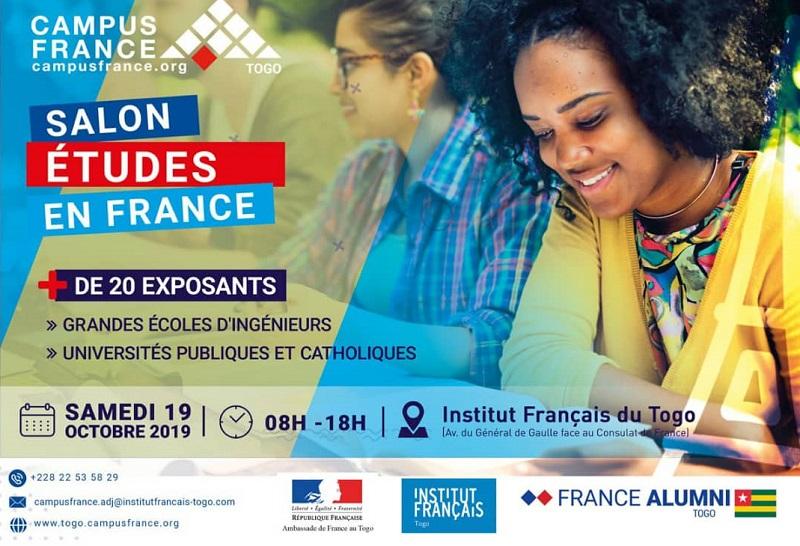 Togo La 1ère édition du Salon Etudes en France annoncée pour vendredi 18 et samedi 19 octobre à l'IFT de Lomé