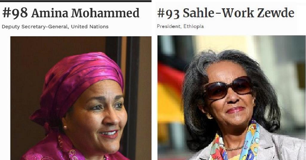 Les femmes les plus puissantes du monde 2 Africaines dans le Top 100 Forbes 2019