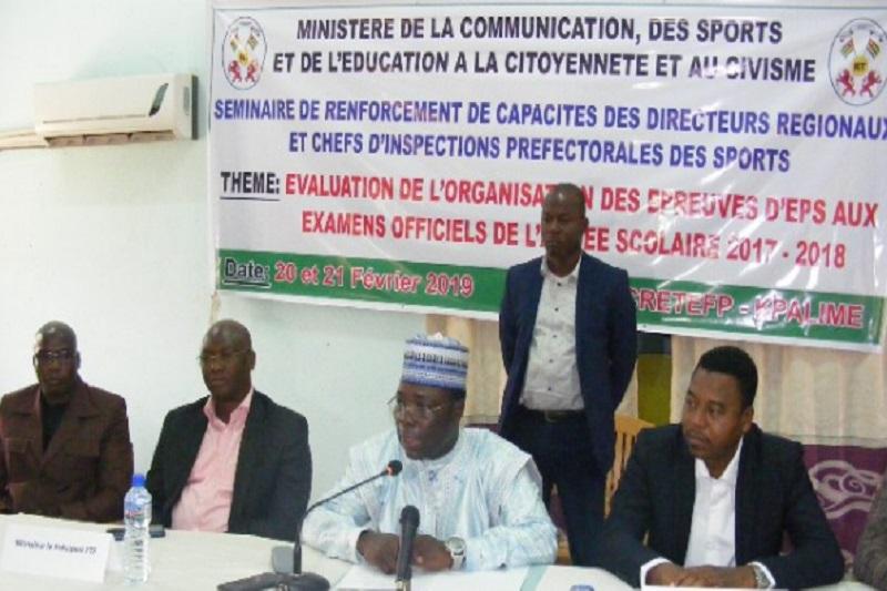 EPS, Sport, Togo, Foli-Bazi Katari, séminaire