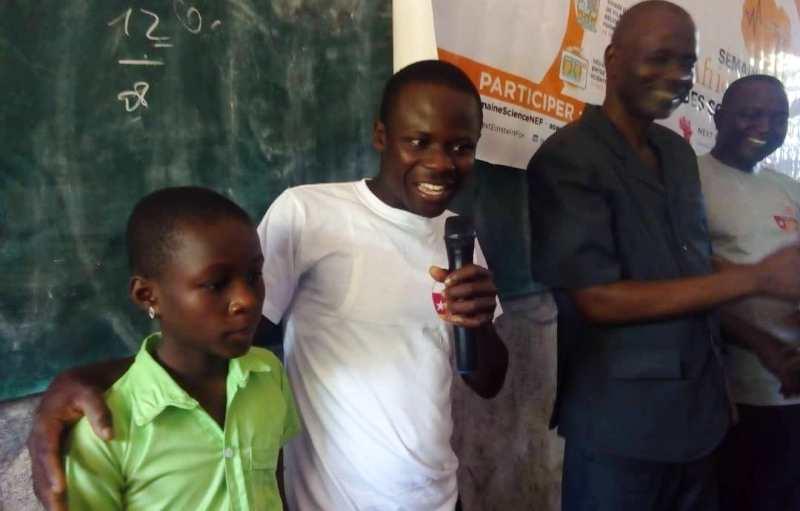 Dodzi Aglago, Mobile Labo, Semaine africaine des sciences et technologies, Togo