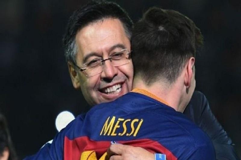 FC Barcelone, Messi, Bartomeu