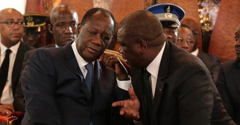 Côte d'Ivoire Faure Gnassingbé pleure Hamed Bakayoko
