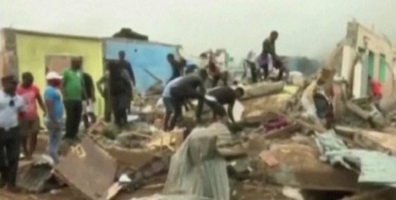 Guinée Equatoriale 4 puissantes explosions dans la capitale ; plusieurs morts et blessés