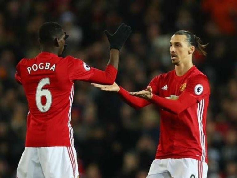Ligue Europa le très bel hommage de Zlatan Ibrahimovic à Paul Pogba