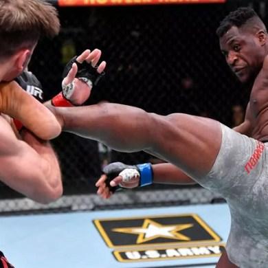 MMA : Le Camerounais Francis Ngannou, nouveau roi de l'UFC