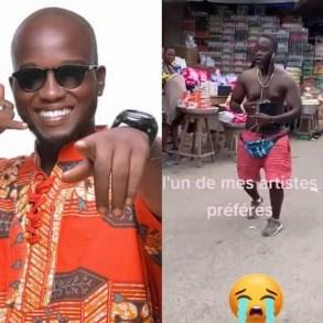 Togo : cette vidéo de Prince Mo délirant en pleine rue choque la toile