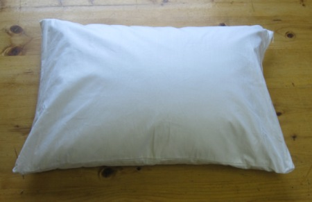 organic buckwheat travel pillow 12 x 16
