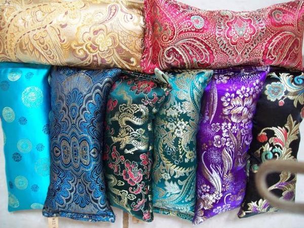 lavender silk eye pillow online