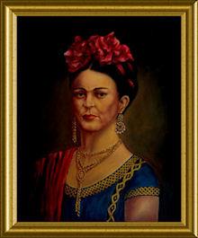 Portrait of Frida Kahlo