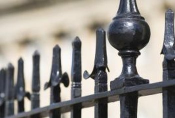 Iron fences are not only durable, but they are elegant decorations for your property.